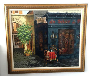 """Victor Shvaiko quot;Afternoon Shadow"""" Large Art Hand Embellished Giclee 315 325 $850.00"""