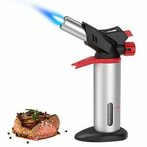 (2020 New) Brifit Butane Torch, Culinary Blow Torch Kit, Refillable Kitchen