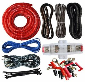 SoundBox ECK4 4 Gauge Amplifier Install Kit Complete Amp Wiring Cables 2300W $18.95