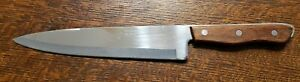Vintage Precision Hollow Ground Chef Knife 9