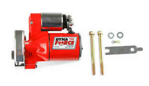 MSD Red DynaForce Starter GM LS1-LS7 Engines Downsized Design 3 Horsepower