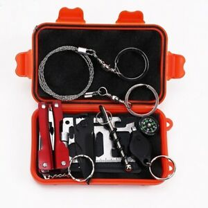 Emergency Equipment Set Camping Supplies First Aid Kit Survival Gear Outdoor Kit