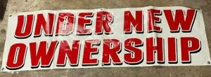 Under New Ownership Banner $18.00