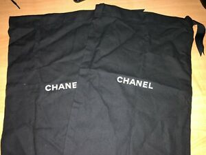 Chanel Storage Dust Bag For Shoes Sandals Flats Or Ect ribbon pull 9.5  X 13.5