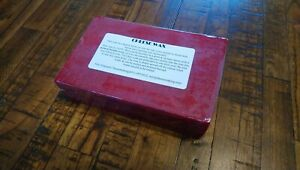 Premium Cheese Wax 1 LB block Sealed Retail ~ RED ~ Free Priority Mail in US!