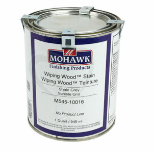 Mohawk M545-10016 Shale Grey Wiping Wood Stain, Quart