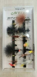 ORVIS 20 piece FLY SELECTION quot;please look at photosquot; $22.95