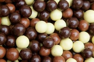 Chocolate Covered Espresso Beans Blend - White, Milk & Dark Chocolate Candy, 1Lb