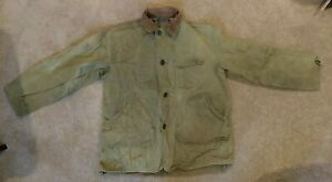 Antique Hunting Jacket Green Size Large 1940#x27;s.....