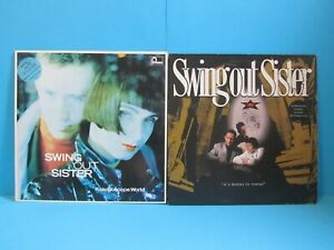 SWING OUT SISTER VINYL JOB LOT IT'S BETTER TO TRAVEL KALEIDOSCOPE WORLD 1980's