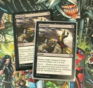 Fatal Push Set of Two Aether Revolt Magic: The Gathering $9.00