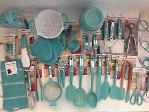 New Kitchenaid Aqua Sky Utensils Gadgets (Color: HAQA) - Items Sold Separately