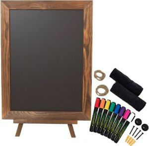 Peraco's Chalkboard Sign with Easel Stand Pack - 16