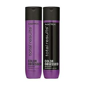 Matrix Total Results Color Obsessed Shampoo and Conditioner 10.1 oz Duo