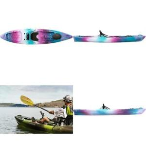 Perception Pescador 12 Sit On Top Fishing Kayak With Front Storage Well Larg