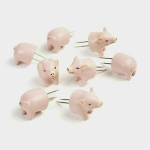 Pig Corn Holder Set of Four by HD Designs