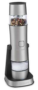 Cuisinart SG-3 Stainless Steel Rechargeable Salt, Pepper and Spice Mill