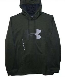 Under Armour Mens Coldgear UA Logo Hoodie Size Small Green $29.99