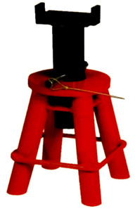 10 Ton Heavy Duty Jack Stand (9.1/2 Inch To 17 Inch ) Pin Type