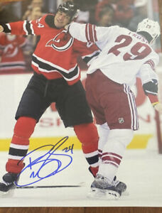 Bryce Salvador Signed Autographed 8 x 10 Photo New Jersey Devils $14.99