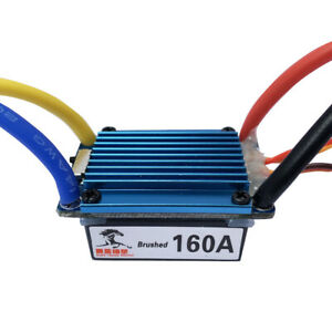160A ESC 380540775 Brushed Motor Speed Controller Dual Mode for 1:10 Car Bait