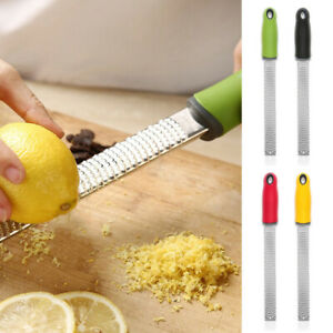 Zester Cheese Grater Ginger Shredder Hand Held Flat Tool Practical Ideal