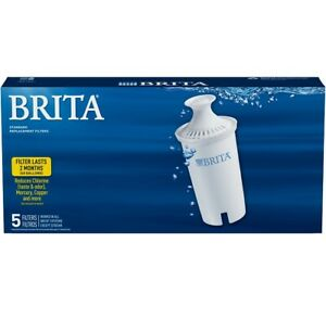5 Brita Pitcher Replacement Water Filters Model OB03 (5 Filters/Pk, Total 1 Pk)