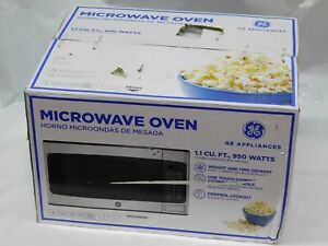 GE JES1145SHSS  - 1.10 Cu. Ft. Mid-Size 950 Watts Stainless-Steel Microwave