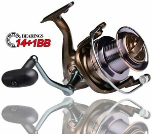 CTS 9000 12000 Professional Fishing Reels Gear Ratio 4.0:1 Bearing: 141 bb