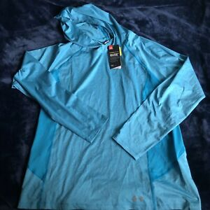 Under Armour Hoodie Women's size XL Fitted CoolSwitch Free Shipping $29.00