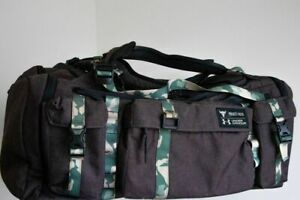 Under Armour Project Rock USDNA Camo Range Duffle Bag Limited Edition $399.00
