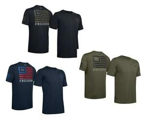 NWT Under Armour Men's UA Freedom Banner T Shirt 1352147 $23.50