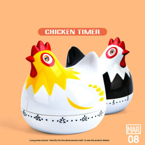 Kitchen Timer Household Rooster Shaped Timer Mechanical Cooking Baki