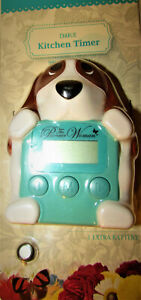 The Pioneer Woman Kitchen Timer CHARLIE the dog Brand New unused