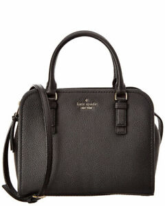 NWT Kate Spade Jackson Street Small Kiernan Leather Satchel Black MSRP $358