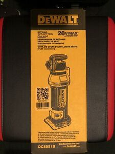 Dewalt Dry Wall Cut-Out Tool DCS551B Tool-Only