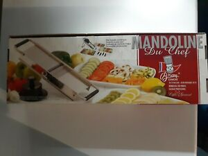Bron Coucke Stainless Steel Mandoline Slicer In Original Packaging*Free Shipping