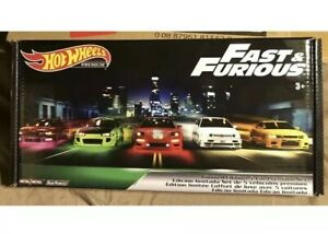 Hot Wheels 2019 Fast and Furious Premium Collectors Boxed Set Limited