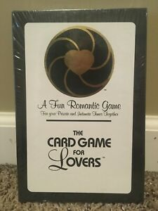 The Card Game for Lovers NEW NIP Relationship Romantic Intimacy Fun Sexual Welln