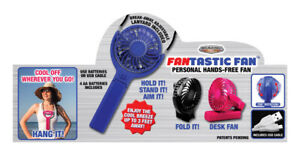 Blazing LEDz  Fantastic Fan  Hands Free  Personal Fan  Plastic - Pack of 12