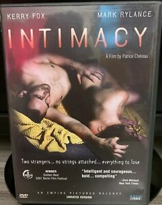 Intimacy DVD, 2004, Unrated Version Directors Cut One Owner Only used once