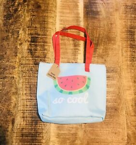 Watermelon Insulated Soft Sided Lunch Bag Picnic Cooler Summer 9x12 NWT