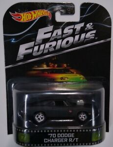 2016 Hot Wheels Fast & furious '70 DODGE CHARGER R T. Brand New.
