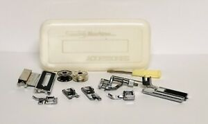 NOS Janome Brother Sewing Machine Accessories Presser Feet Attachments Tool Set $35.00