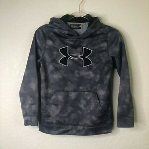 Under Armour Boys YMD Youth Medium Camo Loose Storm Hoodie Sweatshirt $9.99