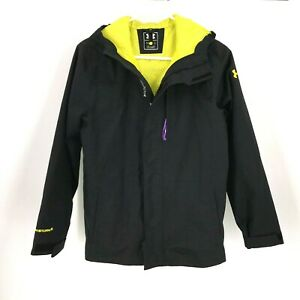 UNDER ARMOUR GIRLS BOYS YOUTH LARGE YLG STORM WINTER SNOW JACKET COAT BLACK $19.99