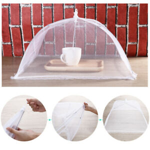 6Pcs 16 Large Pop-Up Mesh Screen Food Cover Dome Reusable Picnic Food Covers