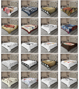 Ambesonne Movie Theater Flat Sheet Top Sheet Decorative Bedding 6 Sizes $29.99