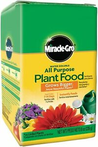Miracle Gro All Purpose Plant Food Grow Flowers Vegetable Fertilizer Garden 8oz