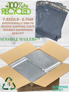 Fully Recycled Poly Mailers Earth Friendly Shipping Bags Sensible Mailers? $14.58